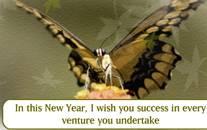Send this cute New Year card.