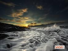 Sunset Near Sea-2