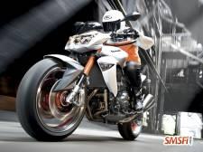 Kawasaki Z1000 White