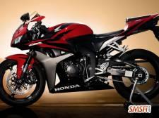 Honda CBR600 Red