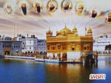 Golden Temple with Guru's