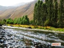 Lavish Mountain with Water