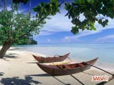 Hana Iti Beach Huahine Island