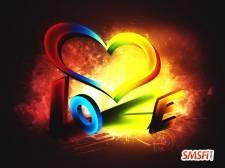 3D Love Color