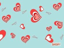 Beautiful Pink Romantic Heart
