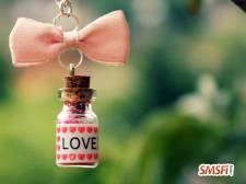Bottle Love Hearts
