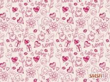 Love Vector Drawings