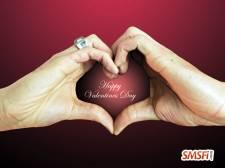 Valentines Hands Heart Love
