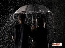 Rain Umbrella Couple